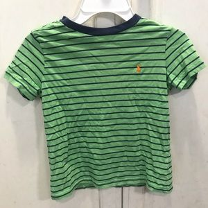 Striped Polo by Ralph Lauren T-shirt size 6 EUC